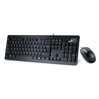 Keyboard & Mouse Genius SlimStar C130 USB Black