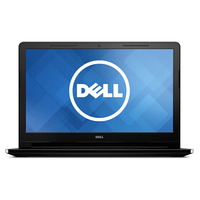 "Laptop DELL Inspiron 15 3000 (3552), iDualCore N3060, 4Gb, 500Gb, iHD+HDMI, 15.6"" HD, DVDRW, CR, Black"