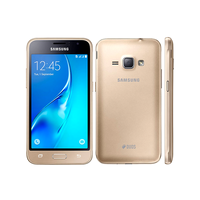Samsung Galaxy J1 (J120H/DS), Gold, 8Gb