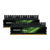 Оперативная память 4Gb (2x2Gb) DDR3 PC15000, 1866MHz, DualChannel Kit, (9-11-9-27), ADATA
