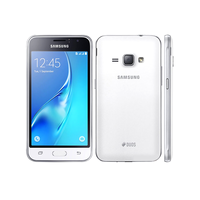 Samsung Galaxy J1 (J120H/DS), White, 8Gb