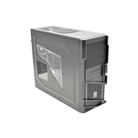 COMMANDER MS-I VN400A1W2N MiddleTower ATX, 1-cooler, Audio&2xUSB3.0, Transparent SidePanel, Black Thermaltake