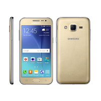 Samsung Galaxy J2 (J200H/DS), Gold, 8Gb