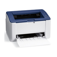 Xerox Phaser 3020 A4, 128Mb, 600x600 dpi, up to 20ppm, WiFi, USB2.0, white/blue