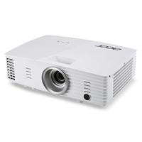 Проектор Acer X125H DLP 3D, XGA, 1024x768, 20000:1, 3300Lm, 6000hrs (Eco), HDMI, VGA, Speaker, White