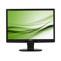 "Monitor 21.6"" Philips 221S3LCB, W-LED, 1920*1080@60, 5ms, DVI, Black"