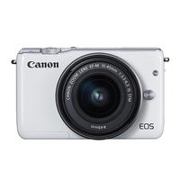 DC Canon EOS M10 White KIT + EF-M 15-45 IS STM