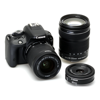 "DC Canon EOS 100D + EF-S18-55 IS STM,18Mpix,CMOS 22,3x14,9mm,Digic 5,View Screen 3"", LP-E12"