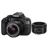 DC Canon EOS 1200D + EF-S 18-55 III + EF 50mm f/1.8 STM Kit