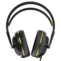 SteelSeries Siberia 200 (10-28kHz, 112dB, 50mm sperakers, 1.8m), USB, Dolby 7.1 Surround, Alchemy Gold