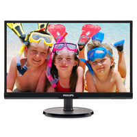 "Monitor 21.5"" Philips 226V6QSB6, AH-IPS, 1920*1080@60, 1000:1(10.000000:1), 8ms, 250cd D-Sub, DVI, Black"