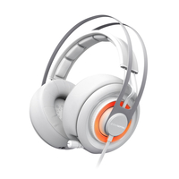 SteelSeries Siberia 200 (10-28kHz, 112dB, 50mm sperakers, 1.8m), USB, Dolby 7.1 Surround, White