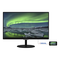"Monitor 21.5"" WideScreen 0.248 Philips 227E7QDSB, AH-IPS W-LED, 1920*1080@60, 1000:1(20.000000:1), 5ms, 250cd, D-sub, DVI-D, HDMI/MHL, Speakers, Black"