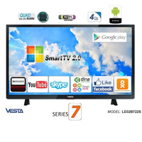 "Televizor 24"" HD VESTA LD24B522 DVB-C/T/T2 Black"