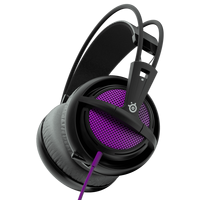 SteelSeries Siberia 200 (10-28kHz, 112dB, 50mm sperakers, 1.8m), USB, Dolby 7.1 Surround, Sakura Purple