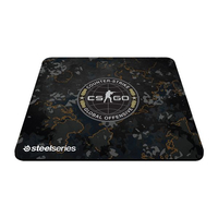 Mousepad SteelSeries QcK+ CS:GO Camo Edition, Non-slip rubber base, 450x400x2mm
