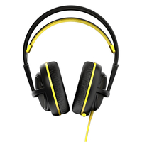 SteelSeries Siberia 200 (10-28kHz, 112dB, 50mm sperakers, 1.8m), USB, Dolby 7.1 Surround, Proton Yellow