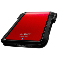 ADATA EX500, External enclosure for 2.5'' SATA HDD with USB3.1(6Gb/s) interface, Red
