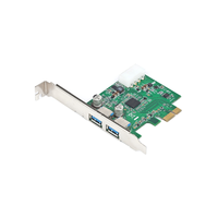 Bestek EPE-USB3.0-NEC  USB-3.0 Host Controller Card, 4.8Gbps, Nec Chipset, 2 Port, PCI-Ex1