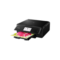 Pixma TS8040, printer/copier/scanner, A4, 4800x1200dpi, scan 1200x2400, 12.6/9 ipm, 6tank, 2pl, Card Reader, Wi-Fi, LCD 7.5cm, USB2.0