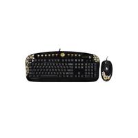 G-Cube Kit Keyboard GKSA-2803SS Aloha Sunset Ergo-Multimedia, 12-Hot Keys, Headset&USB2.0 - Extension port & G-LaserMouse, 1000dpi, Scroll, 2xClick, U