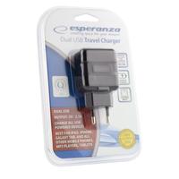 Esperanza EZ114 DUAL USB CHARGER OUTPUT 5V-2,1A