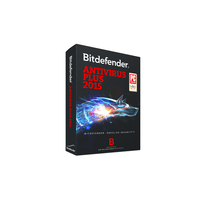 Bitdefender Antivirus Plus 2014 / 2015, 3 user, 1 year, Card