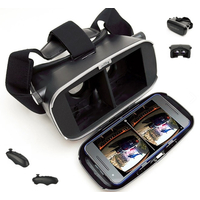 """MATRIX PRO VR Goggles MT5510 incl. BT3.0 Trigger MT5511, supports 3,5-6"""" systems Android&iOS, 8 layered spherical 38mm lenses, 3D Format-SBS"""