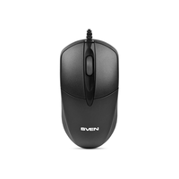 SVEN  RX-112, Black, Optical 800dpi, USB
