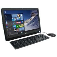 "AiO DELL Inspiron 3264 FHD IPS 21.5"" Black iPentium DualCore 4415U, 4Gb, 500Gb, iHD 610, HD Webcam, USB KB/MS"