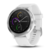 vivoactive 3 white silicone stainless steel