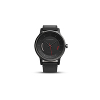 vivomove Classic Black with Leather Band