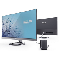 "Monitor 27,0"" Asus MZ27AQ, W-LED, 2560*1440@60WQHD, 1000:1(10000000:1), 5ms, 350cd, D-Sub, HDMI, DP, Speakers, Audion-In, Gray/Black"