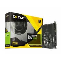 Video Card ZOTAC GeForce GTX 1050 mini 2Gb (1455/7008Mhz) DDR5 (128bit), Single Fan, DVI+HDMI+DisplayPort, LitePack
