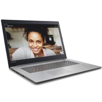 "Laptop Lenovo IdeaPad 320-17IKB, iCore i3-7100U, 4Gb, 500Gb, GeForce 920MX 2Gb+HDMI, CR, 17.3"" HD+, Platinum Gray"