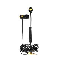 Casca Tellur In-ear Trendy Strip Line auriu