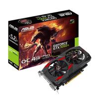Video Card ASUS CERBERUS GTX1050TI-O4G NVIDIA GeForce GTX 1050Ti 4GB (1480/7008MHz ) DDR5 (128bit) DVI, HDMI, DP, Retail