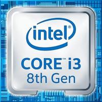 Procesor Intel Core™ i3 8100 - 3.6GHz, 6MB, Socket1151, 8GT/s DMI, Intel® UHD Graphics 630, 14nm, 65W, 8th gen.,Tray (QuadCore)