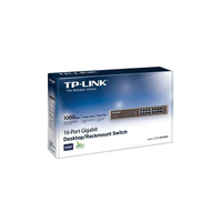 """TP-Link TL-SG1016D, Switch 16-port 10/100/1000Mbit, 13"""""""