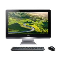 """AiO Acer Aspire Z20-730 Silver/Black FHD 19.5"""" iPentium J4205-(1.50-2.60GHz)/4Gb/500Gb/DVDRW/CR/iHD/Wi-Fi/BT/GLAN/Mouse+Keyboard"""