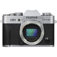 Fujifilm X-T20 body silver, 24.3 mpx, CMOS III sensor & X-Processor Pro, UHD 4K, WiFi, 3.0 LCD 1040K Flip Touch Display + OVF