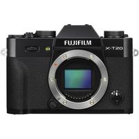 Fujifilm X-T20 body black, 24.3 mpx, CMOS III sensor & X-Processor Pro, UHD 4K, WiFi, 3.0 LCD 1040K Flip Touch Display + OVF