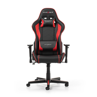 DXRacer Formula GC-F08-NR-H1, Black/Black/Red - PU leather, Gamer weight up to 100kg/growth 145-180cm, Gas Lift 4 Class, Recline 90*-135*