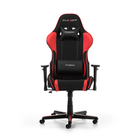 DXRacer Formula GC-F11-NR-H1, Black/Black/Red - Fabric & PU, Gamer weight up to 100kg/growth 145-180cm, Gas Lift 4 Class, Recline 90*-135*