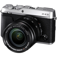 Fujifilm X-E3  XF18-55mm Kit black, 24.3 mpx, CMOS III sensor & X-Processor Pro, UHD 4K, WiFi, 3.0 LCD 1040K Flip Touch Display + OVF