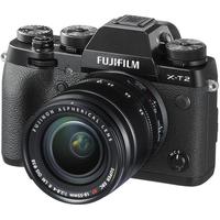 Fujifilm X-T2 /XF18-55mm F2.8-4 R LM OIS Kit, 24.3 mpx, APS-X-Trans CMOS III, UHD 4K, Wifi, 3.0 LCD 1040K Flip Display + OVF