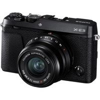 Fujifilm X-E3  XF23mm Kit black, 24.3 mpx, CMOS III sensor & X-Processor Pro, UHD 4K, WiFi, 3.0 LCD 1040K Flip Touch Display + OVF