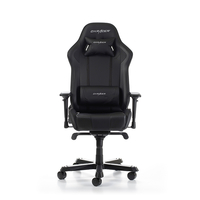 DXRacer King GC-K06-N-S3/Gamer weight up to 150kg/growth 160-195cm,Black/Black/Black - PU leather & Carbon look PVC/Gas Lift 4 Class/Recline 90*-135*