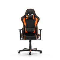 DXRacer Formula GC-F08-NO-H1, Black/Black/Orange - PU leather, Gamer weight up to 100kg/growth 145-180cm, Gas Lift 4 Class, Recline 90*-135*