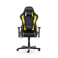 DXRacer Formula GC-F08-NY-H1, Black/Black/Yellow - PU leather, Gamer weight up to 100kg/growth 145-180cm, Gas Lift 4 Class, Recline 90*-135*
